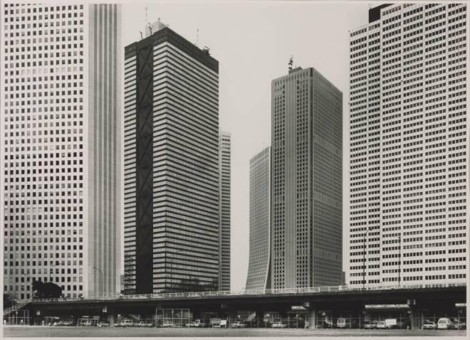 Shinju-ku (Skyscrapers), Tokyo 1986 1986 by Thomas Struth born 1954